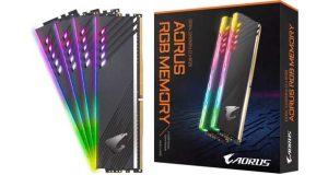 DDR4 AORUS RGB 16 Go 3600 MHz
