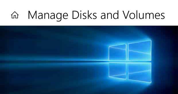 Application « Gestion des disques » de Windows 10