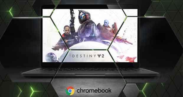 Le service GeForce Now débarque sous ChromeOS