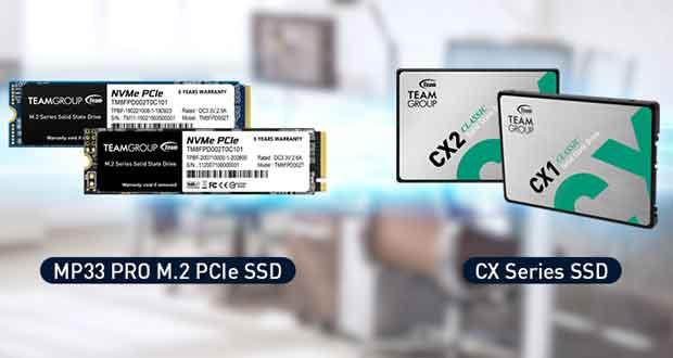 SSD TeamGroup MP33 Pro, CX2, CX1