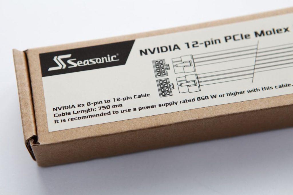 Nvidia 2 x 8 -pin to 12-pin cable de Seasonic