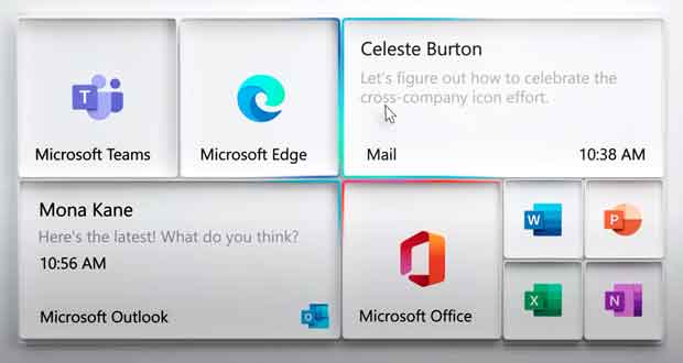 Windows 10, un nouveau design pour les vignettes dynamiques ?