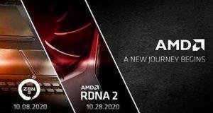 Conférences AMD sur les architectures Zen 3 (Ryzen 4000 serie) et RDNA 2 (Radeon RX 6000 series)