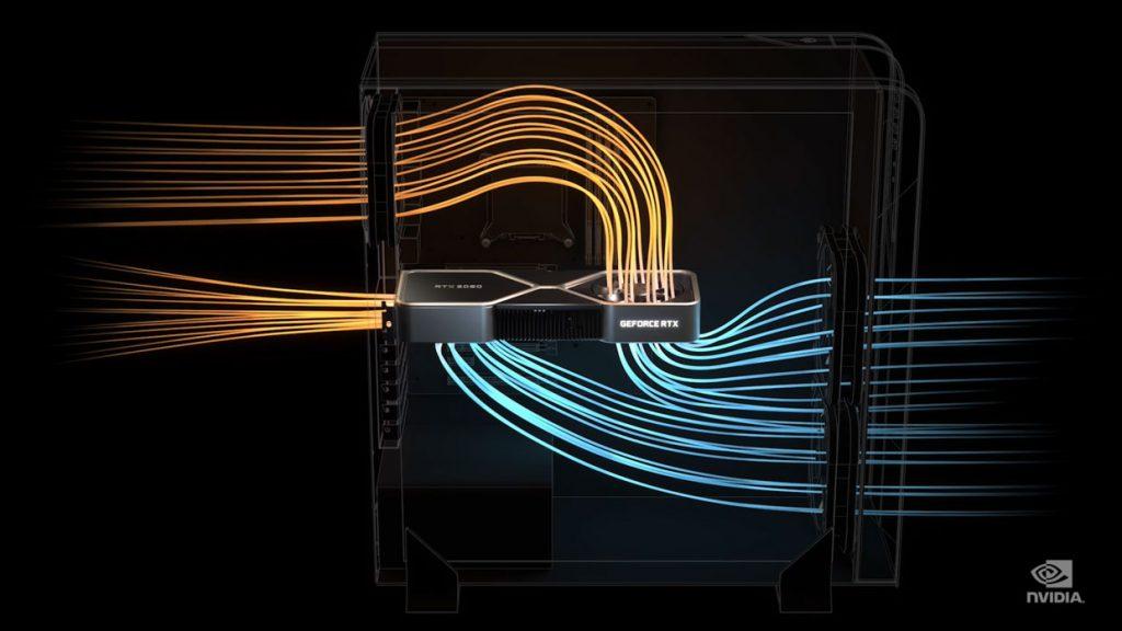 GeForce RTX 3090 - Solution de refroidissement
