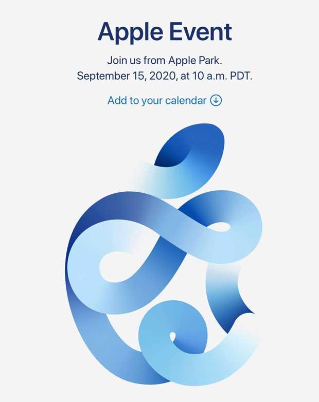 Keynote Apple - 15 septembre 2020