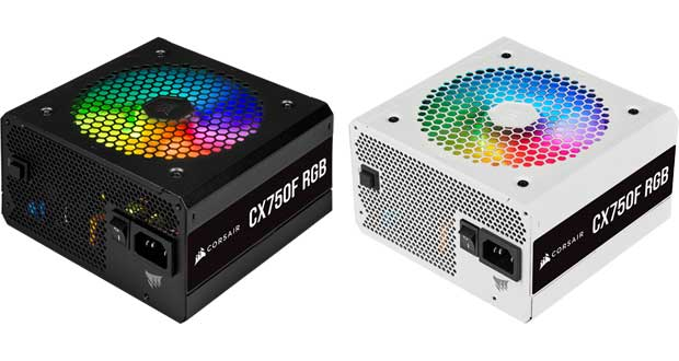 Alimentations Corsair CX-F RGB Series