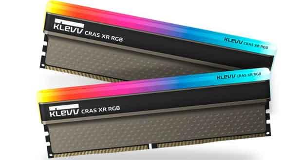 DDR4 Cras XR RGB de Klevv