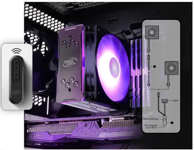 Contrôleurs ARGB et RGB de DeepCool