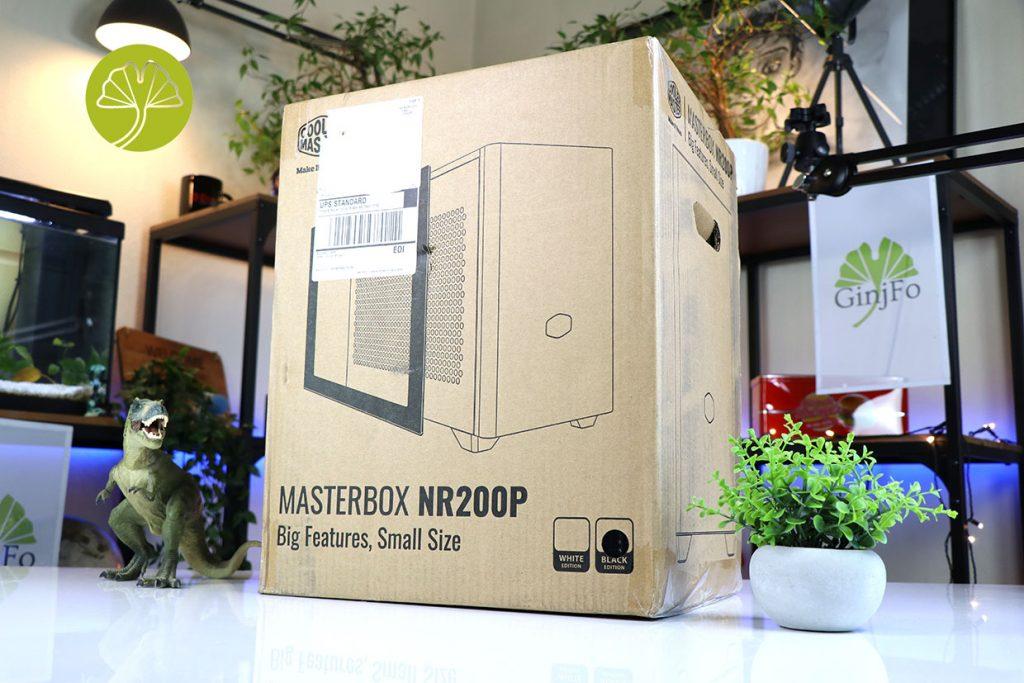 Boitier MasterBox NR200P de Cooler Master