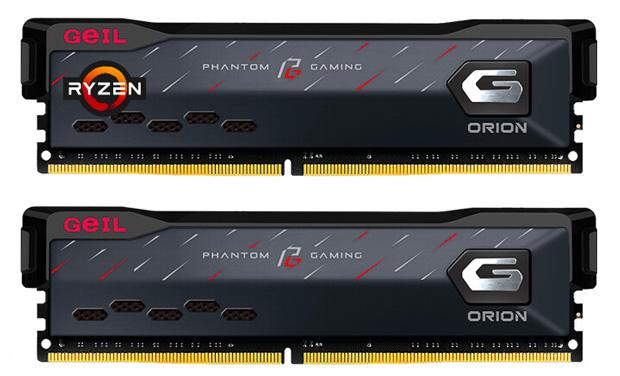 Mémoire Orion Phantom Gaming AMD Edition et Intel Edition