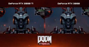 Doom Eternal en 4K Full Option – GeForce RTX 3080 Vs GeForce RTX 2080 Ti