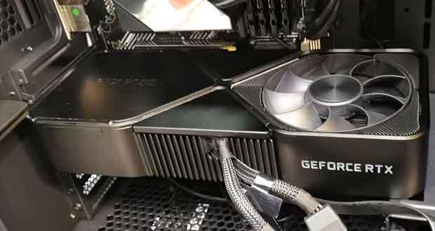 La GeForce RTX 3090