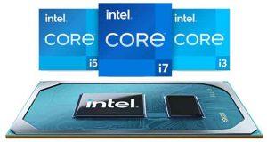 Processeur mobile Intel Core de 11ème génération (Tiger Lake)