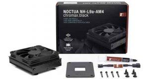 Ventirad NH-L9a-AM4 chromax.black de Noctua