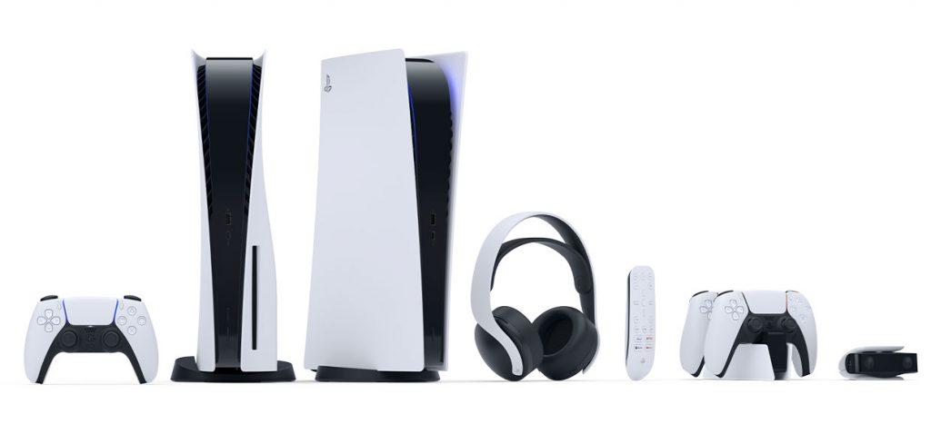 La PS5 (PlayStation 5) / PS5 (PlayStation 5) Edition numérique et ses accessoires