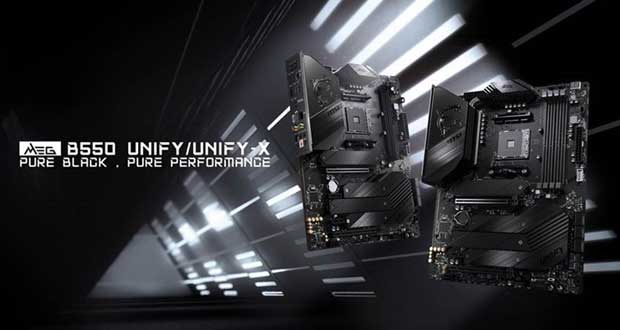 MEG B550 UNIFY Series de MSI