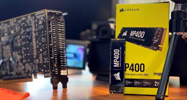 SSD Corsair MP400 2 To