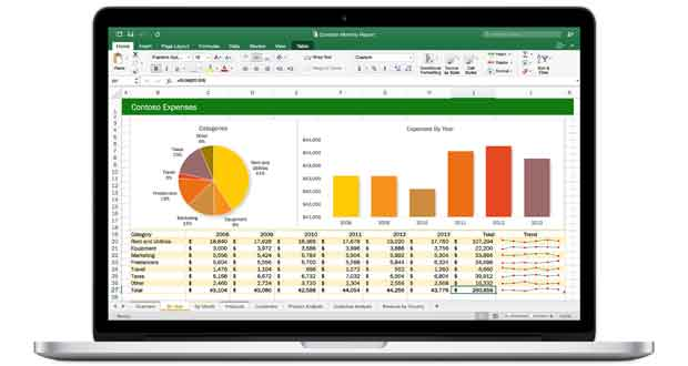 Suite bureautique Office 2016 pour Mac