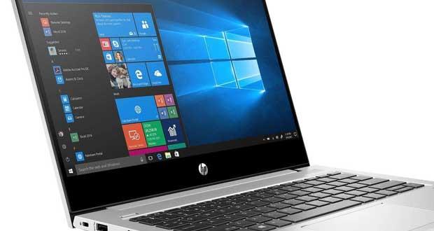 Ordinateur portable HP et Windows 10