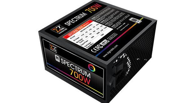 Alimentation Spectrum 700W de Xigmatek