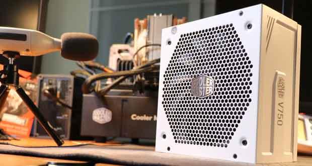 V750 Gold V2 White édition de Cooler Master