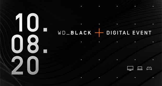 Western Digital annonce sa conférence « WD_Black Digital Event »