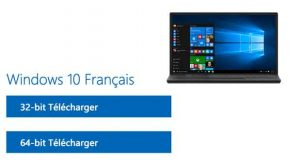 Windows 10 de Microsoft - ISO d'installation