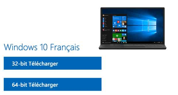 Windows 10 de Microsoft - ISO d'installation