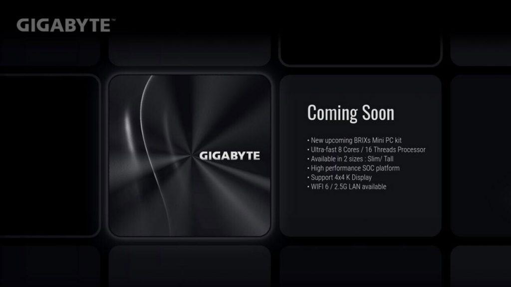 Mini-PC Brix de Gigabyte