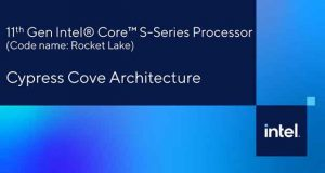 Architecture Cypress Cove d'Intel – Processeur Rocket Lake-S