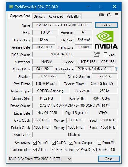 GPU-Z v2.36.0
