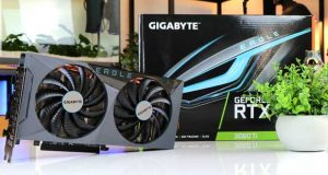 GeForce RTX 3060 Ti Eagle de Gigabyte