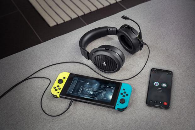Casque gaming Corsair HS70 Bluetooth
