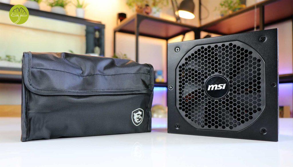 Alimentation MPG A850GF de MSI