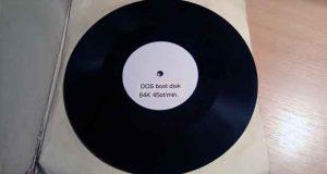 Disque Vinyle – MS-DOS