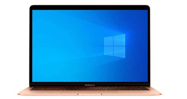 MacBook Pro (Apple M1) et Windows 10