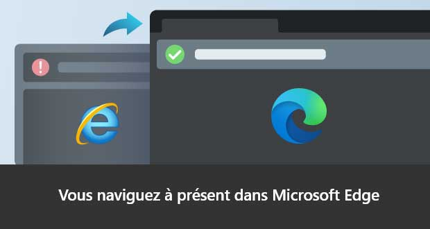 Microsoft Edge sous Windows 10 - Redirection dans Internet Explorer