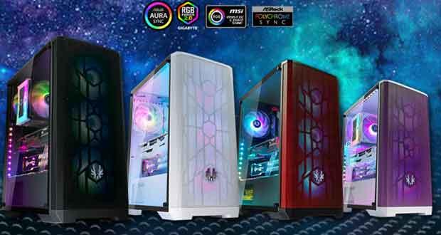 Boitier Gaming NOVA MESH SE TG de BitFenix