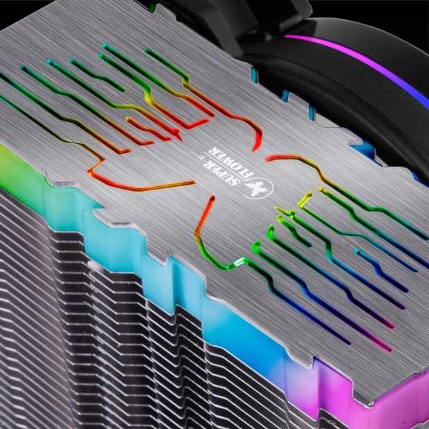 Ventirad Neon 122 de Super Flower