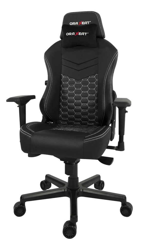 Fauteuil gaming TK900 d'Oraxeat (Blanc)