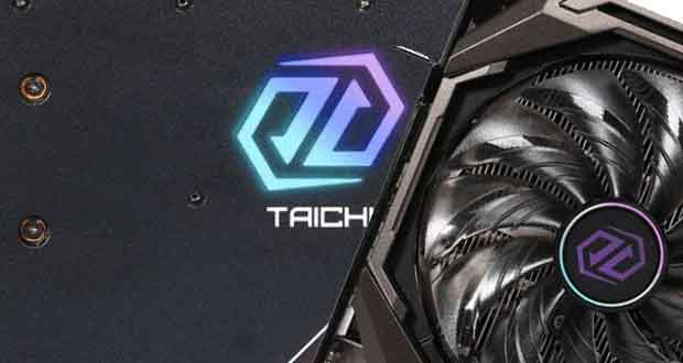 Radeon RX 6800 XT Taichi d'ASRock