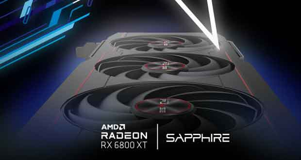 Radeon RX 6800 XT Pulse de sapphire
