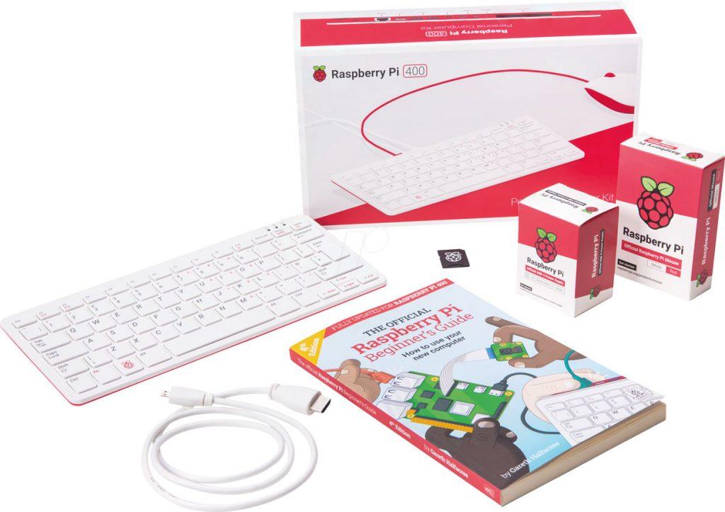 Raspberry Pi 400 Personal Computer Kit