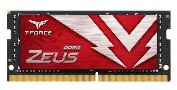Mémoire vive T-Force Zeus DDR4 SO-DIMM