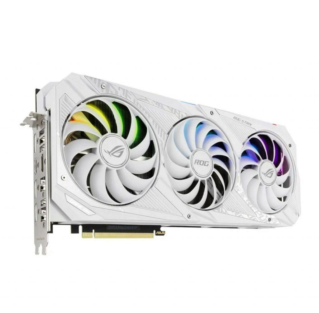 ROG Strix GeForce RTX 30 series White Edition