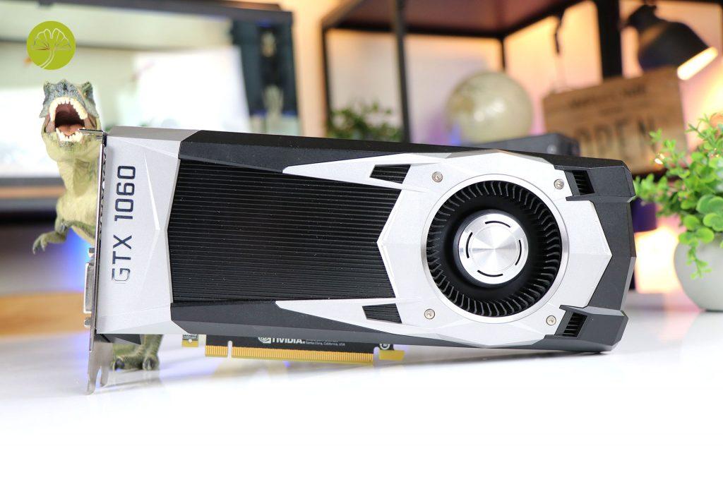 GeForce GTX 1060 6 Go Founders Edition de Nvidia
