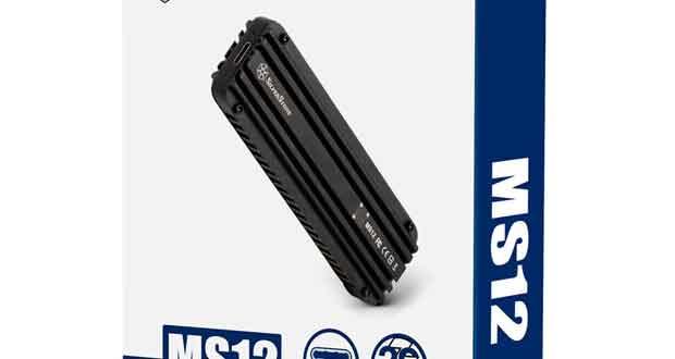 Boitier SSD externe MS12 de SilverStone