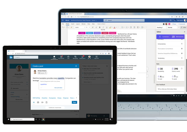Rédacteur Microsoft alias Microsoft Editor