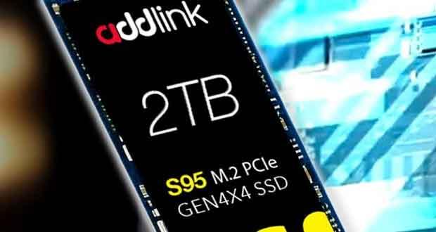 SSD M.2 NVMe 1.4 S95 d'Addlink