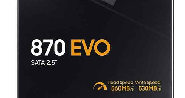 SSD 870 EVO de Samsung